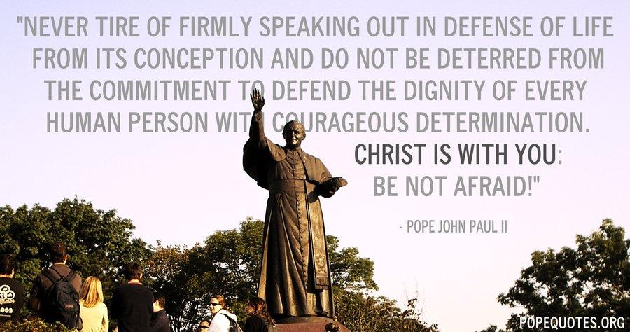 the early life of john paul ii The saint john paul ii society honors pope saint john paul ii and seeks his heavenly intercession for healing, hope, and peace.
