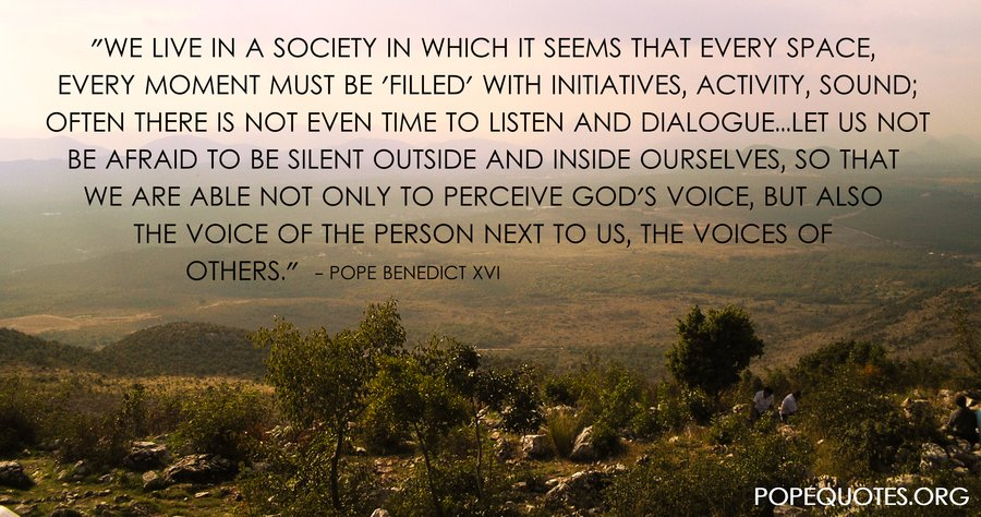 Society Quotes | Pope Benedict Xvi Quote We Live In A Society In Which It Seems That